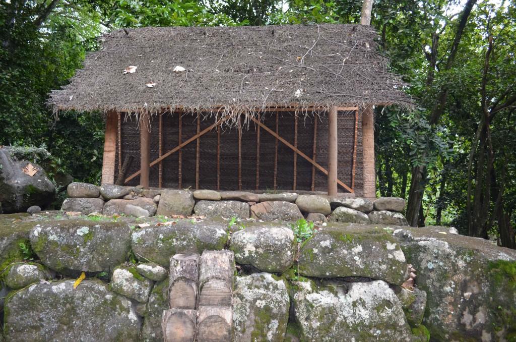 Traditional Marquasan home