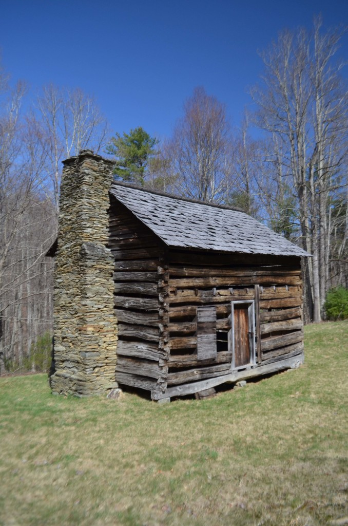 Cabin on the Blue Ridge Parkway